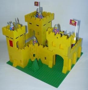 yellow castle