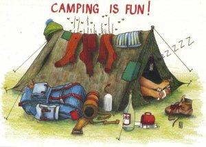 Camping-animatie