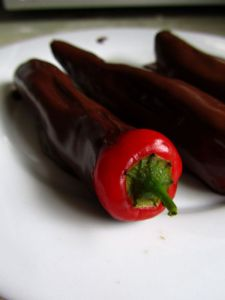 Chocolate covered hot peppers