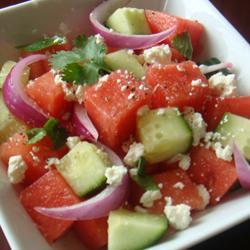 watermelon salad